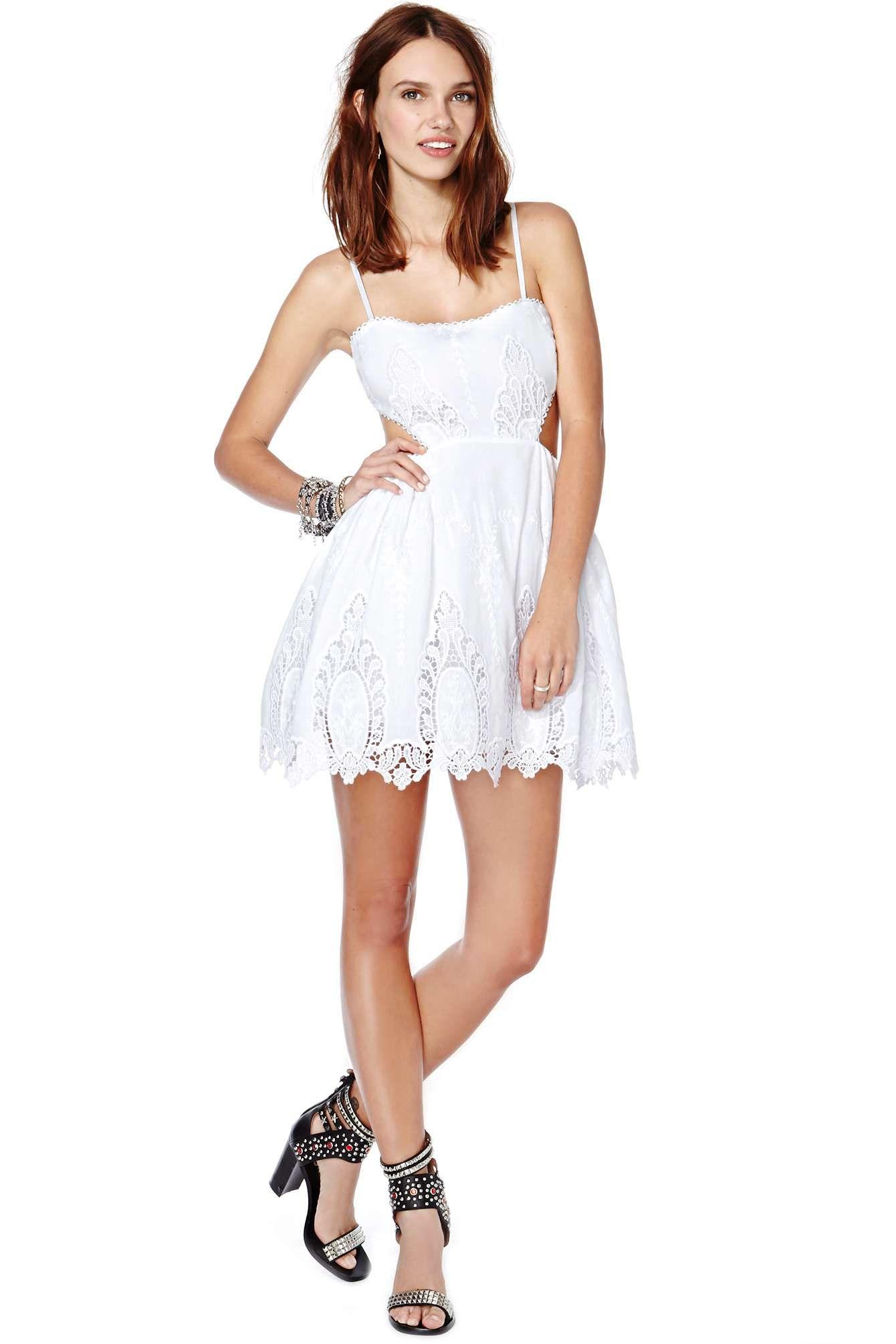 Nasty Gal Skate-Laced Dress   Shop Dresses at Nasty Gal