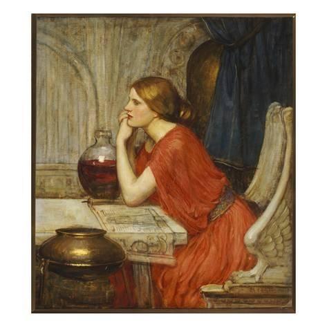 John William Waterhouse The Danaides Giclee Canvas Print