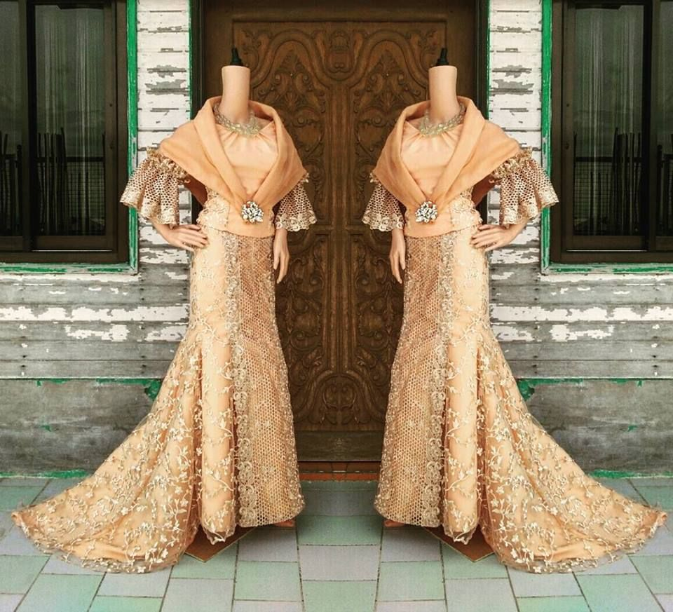 filipiniana dress / balintawak gown / filipino costume