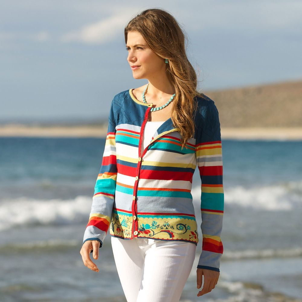 Serbian Floral Cardigan | National Geographic Store