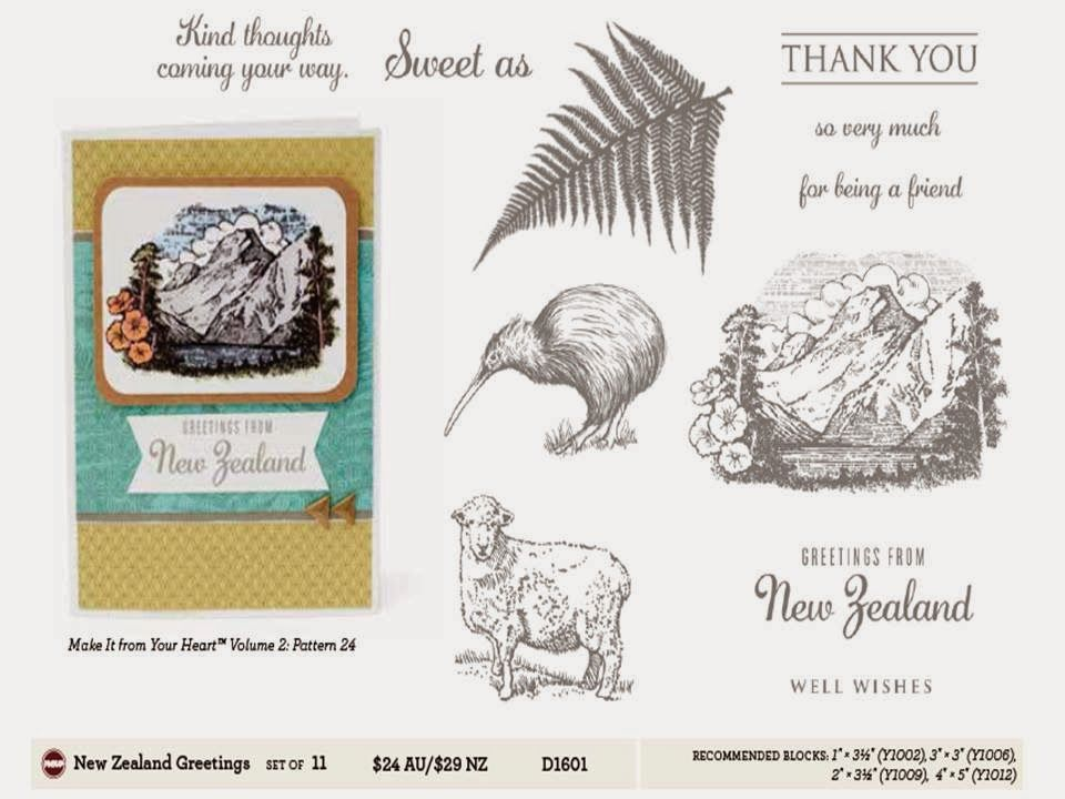 """CLOSE TO MY HEART - AUSTRALIA TRACEY - """"LET ME SHOW YOU HOW"""": AUSTRALIAN AND NEW ZEALAND EXCLUSIVE STAMP COLLECTIONS FROM CLOSE TO MY HEART AUSTRALIA"""