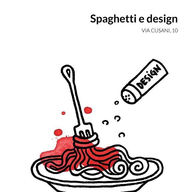 Chi vuole provare questo nuovo piatto?  Alla scoperta di #BreraDesignDistrict attraverso le illustrazioni di @reneemelo.  There's a curious dish in town. Would you like to try it?  Discover #BreraDesignDistrict through #BDDTips!