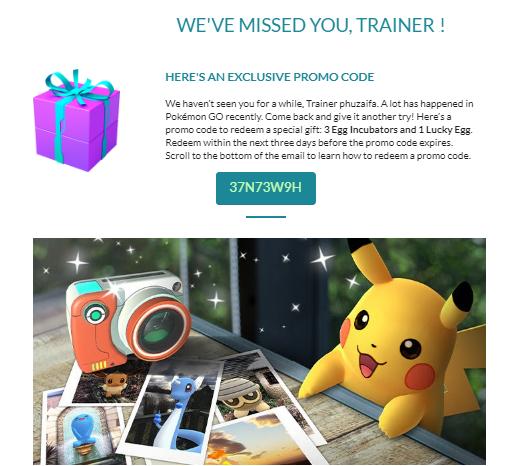 Pin On Pokemon Go Promo Code