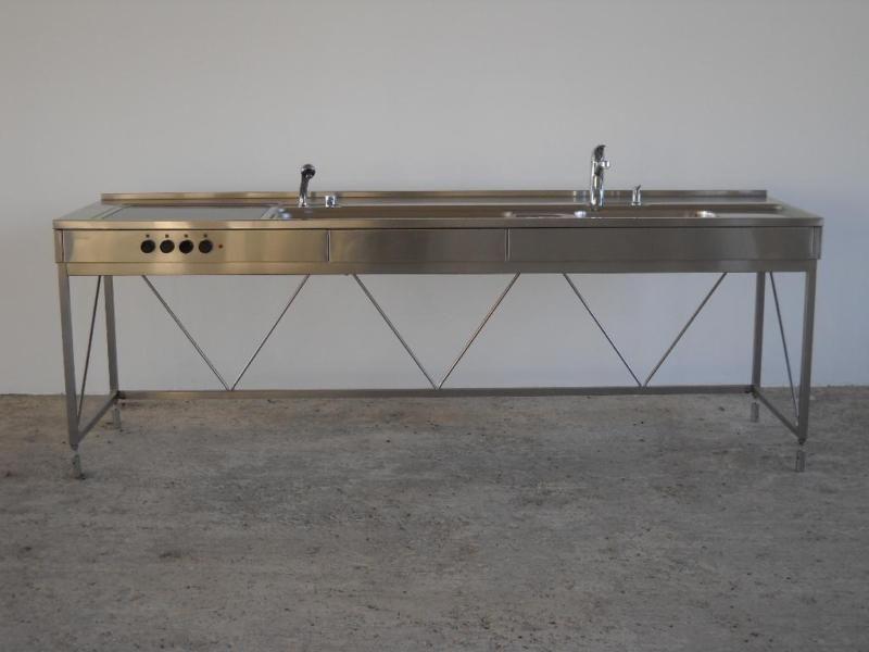 bulthaup küchenwerkbank der ersten serie ausführung mit