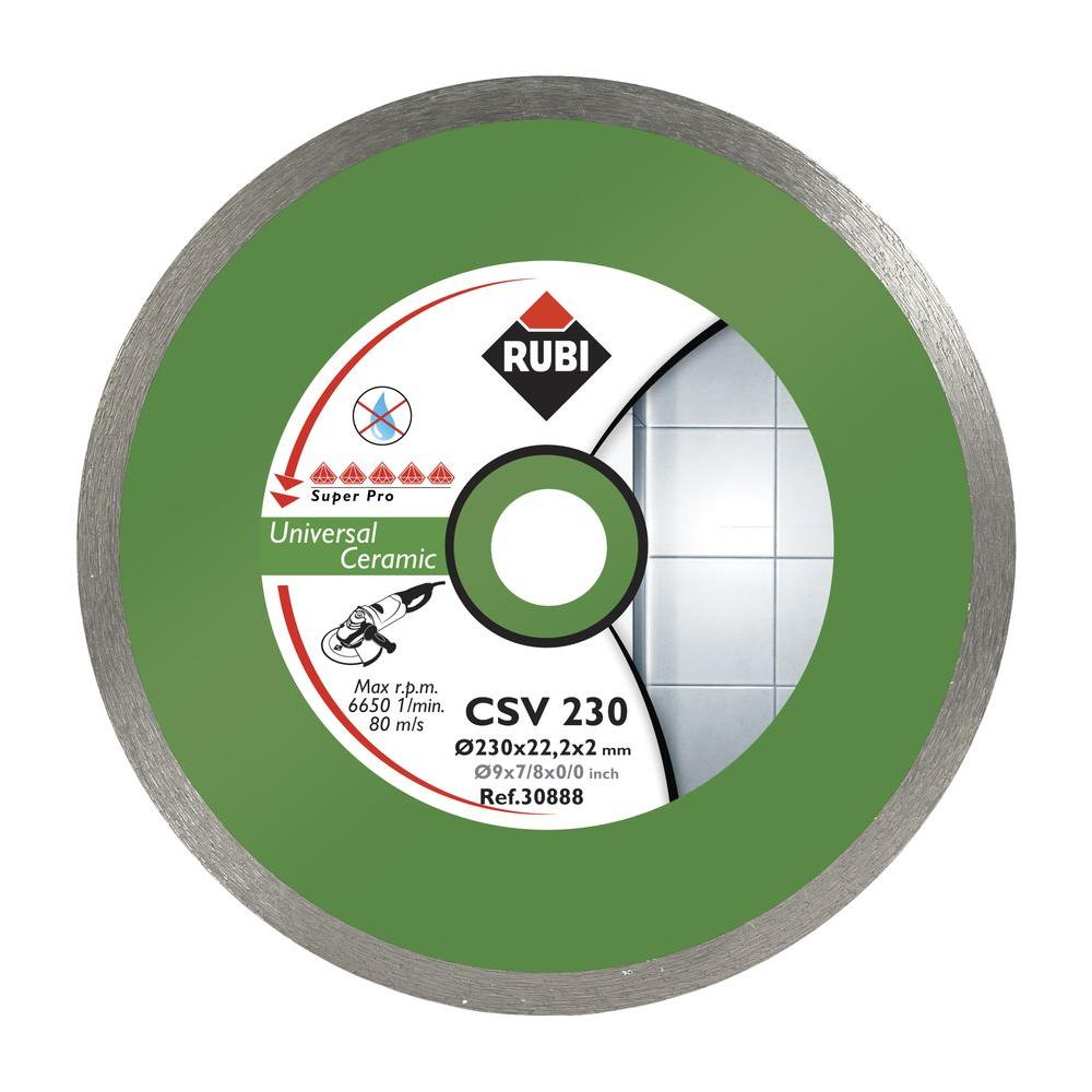 Rubi Csv 4 1 2 In Superpro Grinder Blade 30882 Rigid Foam Insulation Blade Pressure Treated Plywood