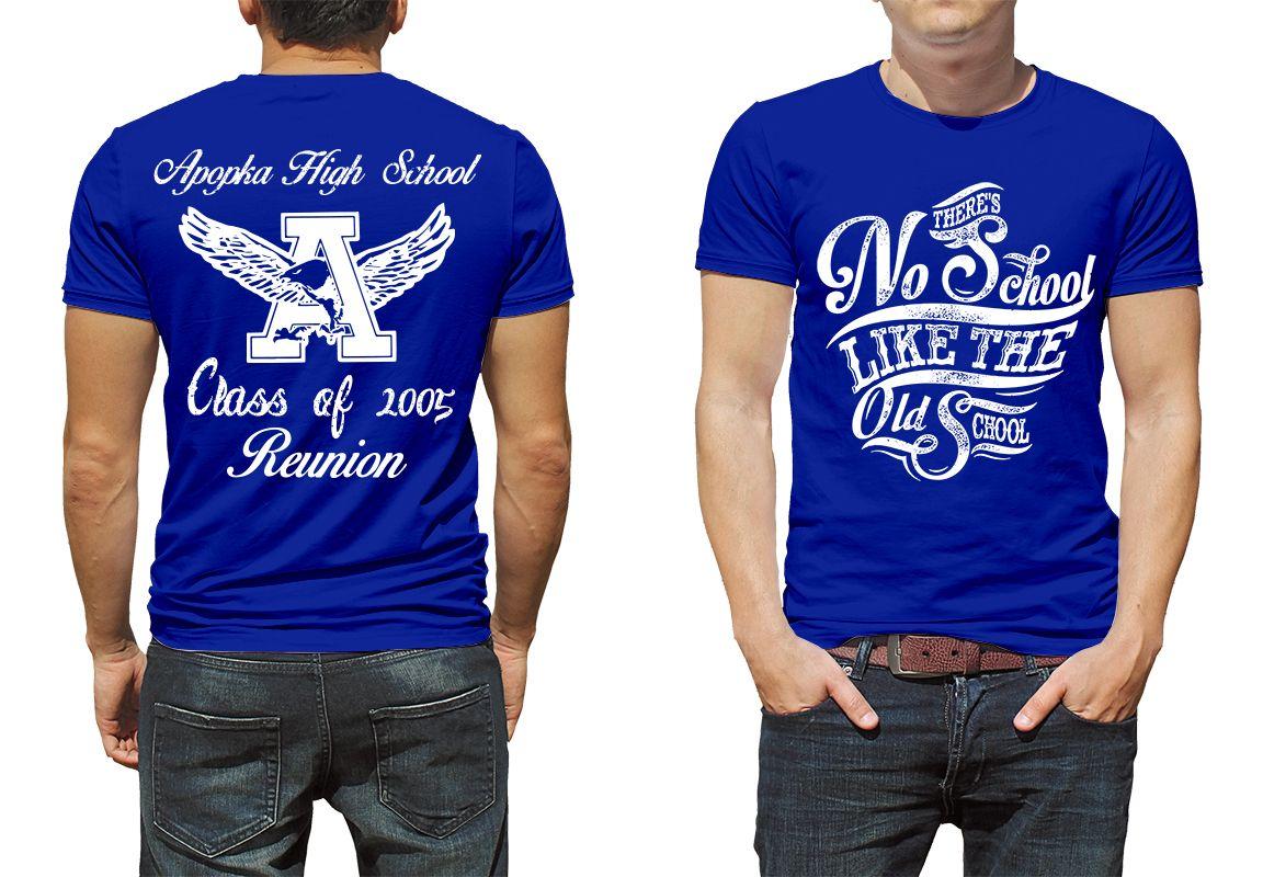 Apopka Class Of 2005 Reunion Class Reunion T Shirt Design Ideas