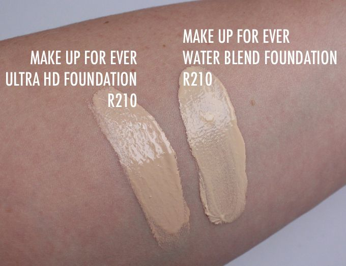 New Make Up For Ever Water Blend Face Body Foundation Kelsey Smith Makeup Forever Hd Foundation Makeup Forever Ultra Hd Foundation Body Foundation