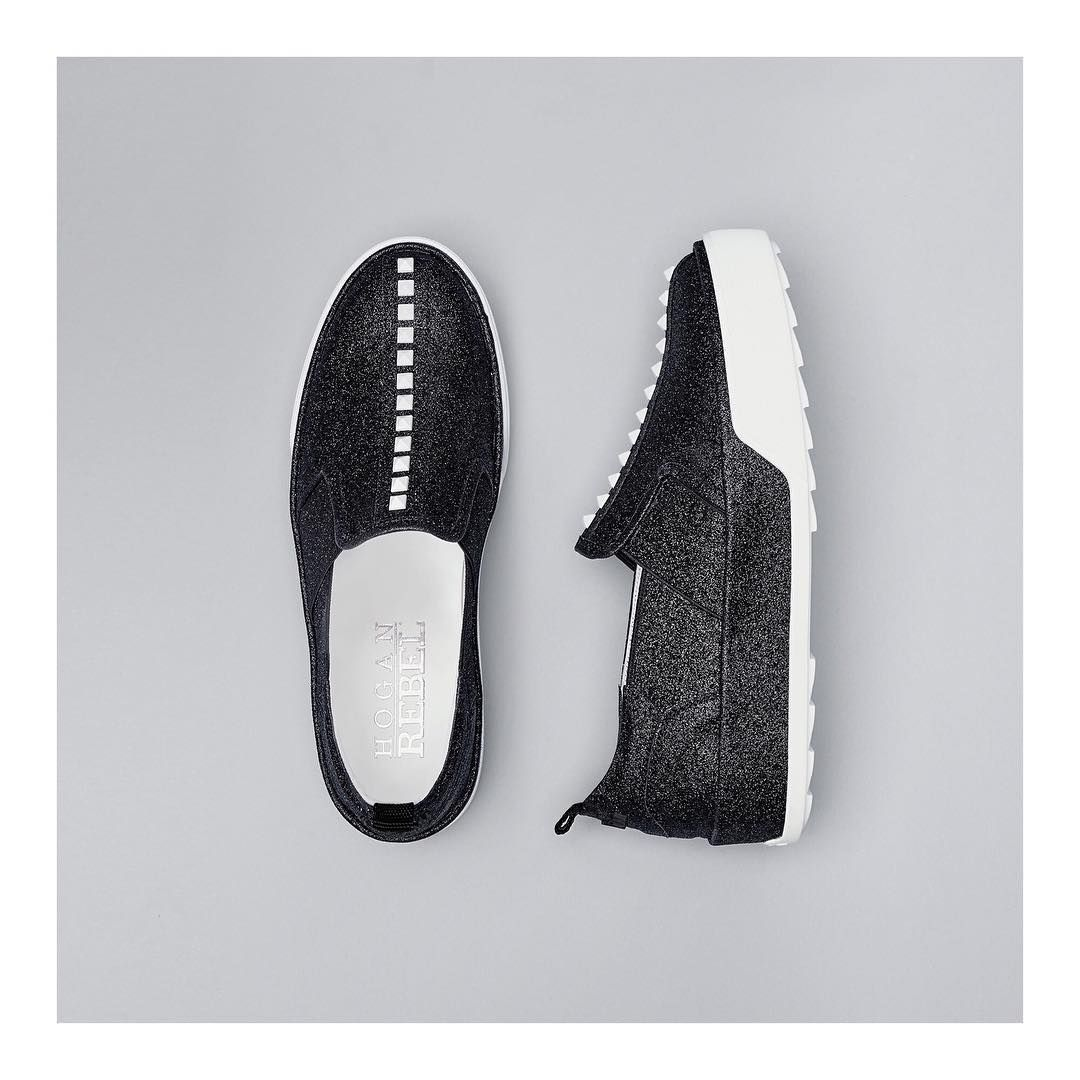 A truly futuristic design the #HOGAN #H320 slip on #sneakers Join ...