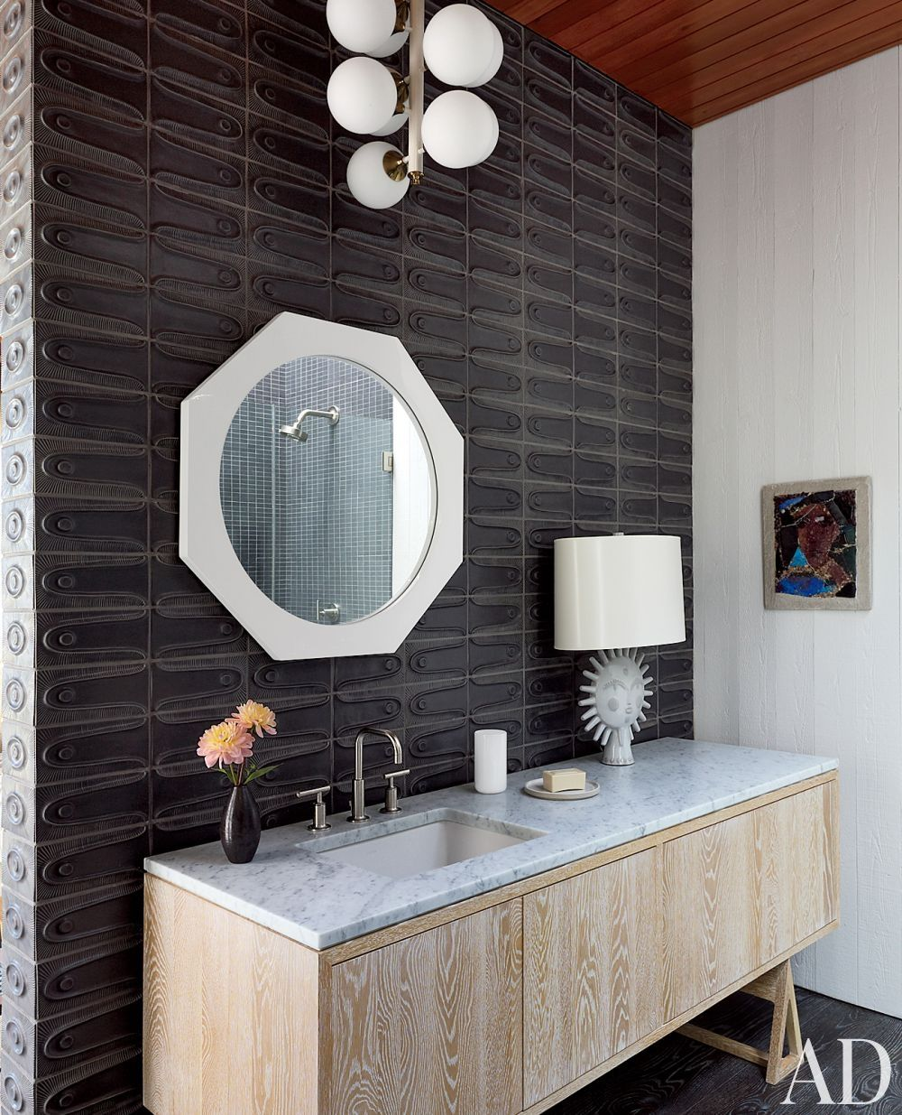 Charmant Contemporary Bathroom By Jonathan Adler And Gray Organschi Architecture In  Shelter Island, New York