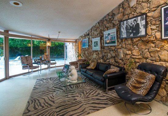 Elvis Presley's midcentury honeymoon retreat in Palm Springs, California, USA