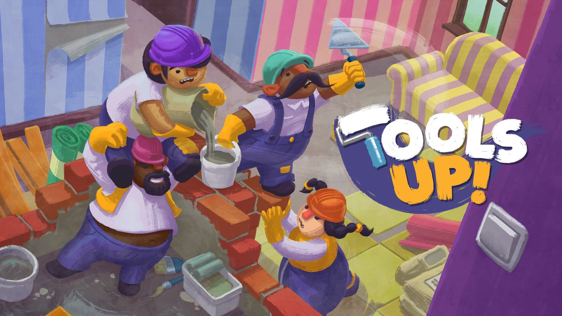 Ps4 Couch Co Op Games 2020.Tools Up Brings Casual Couch Co Op To Consoles And Pc This
