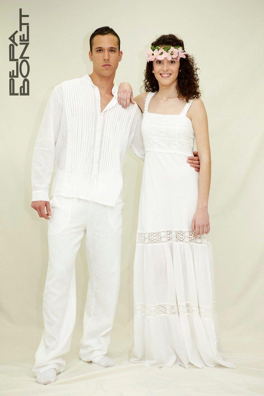 Vestidos de fiesta moda ibicenca