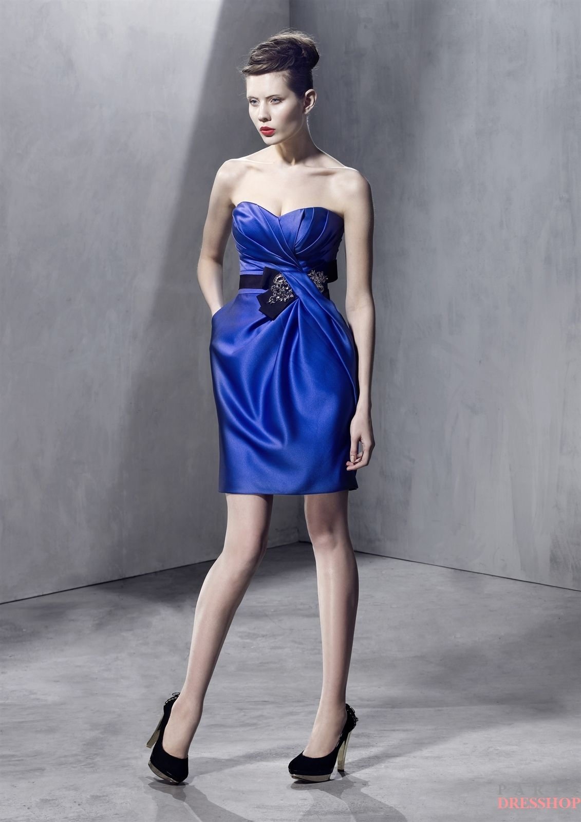 Pin by michelle porter on make mine blue pinterest blue satin bridesmaid dress by love by enzoani search our photo gallery for pictures of wedding bridesmaids by love by enzoani find the perfect bridesmaid with ombrellifo Choice Image