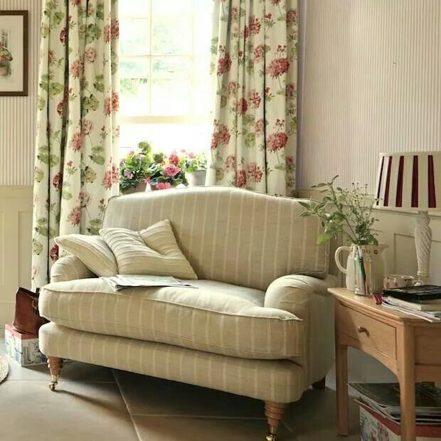 country style living room curtainshome living roomcottage - Cottage Style Living Room Pinterest