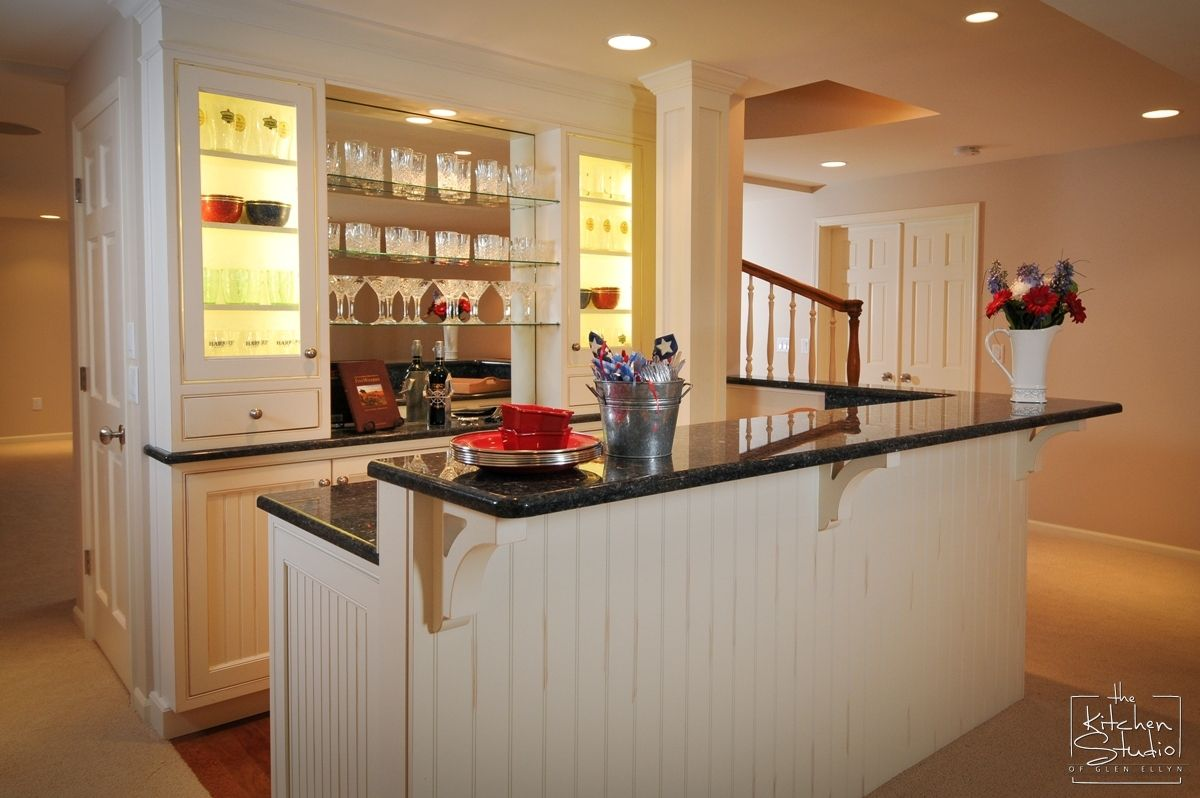 White Wood On Basement Bar  Family Room Redo Basement  Pinterest Best Kitchen Design Applet Inspiration Design