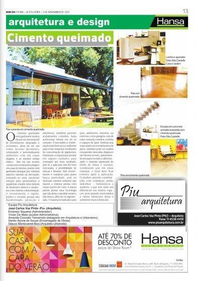 62° Jornal Bom Dia - Cimento queimado 02-11-12