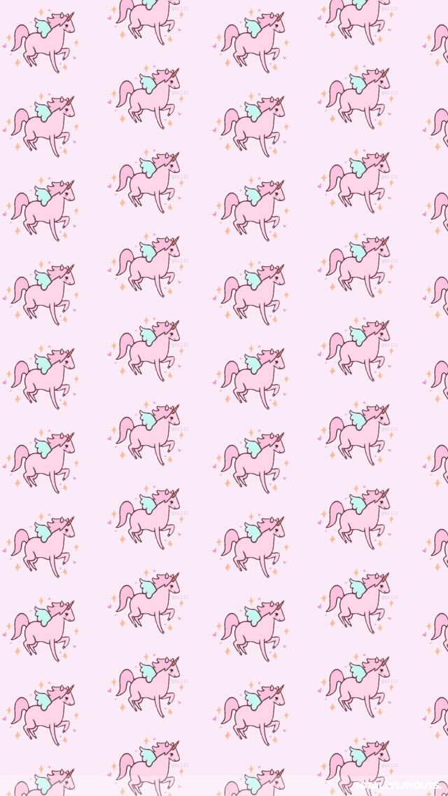 Pin By Amber On Pastel In 2019 Pink Unicorn Wallpaper
