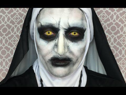 Valak Makeup Tutorial Conjuring 2 Maquiagem Da Freira Do Filme