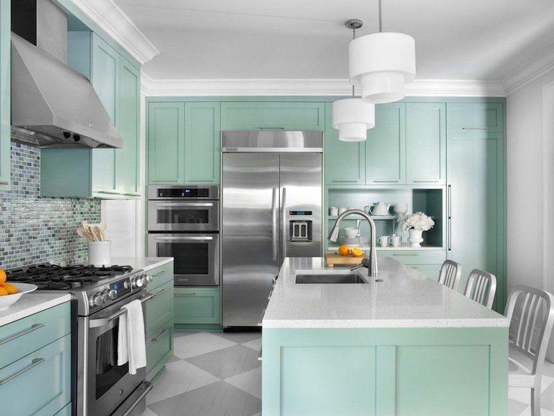 Quelle couleur pour une cuisine chic 40 id es de Quelle couleur de peinture pour une cuisine