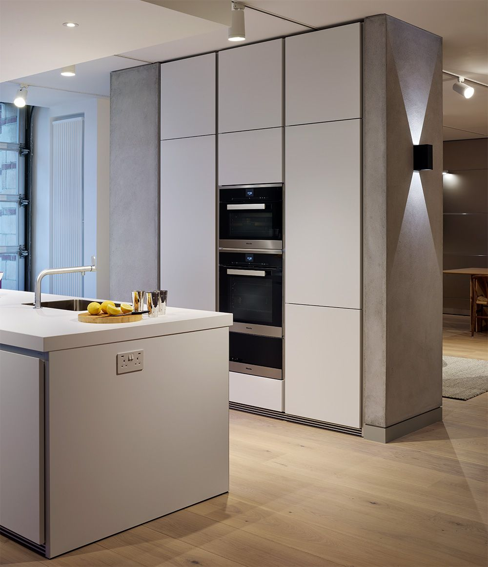 The Sleek Handleless Beauty Of A Bulthaup B1 Kitchen In Alpine Amusing Miele Kitchens Design Inspiration
