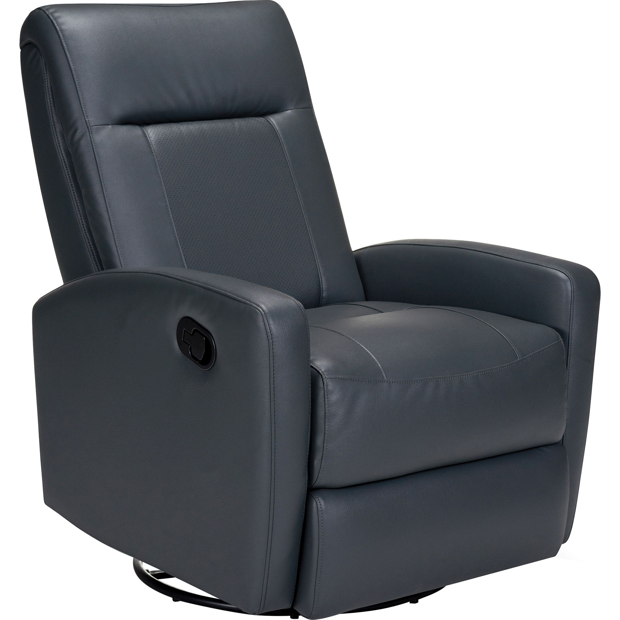 Stefan Swivel Glider Recliner in Black   Opulence Home Furniture   Home  Gallery Stores