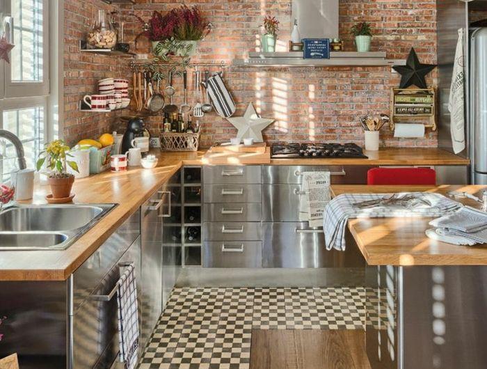 Comment choisir la crédence de cuisine? Idées en 50 photos!