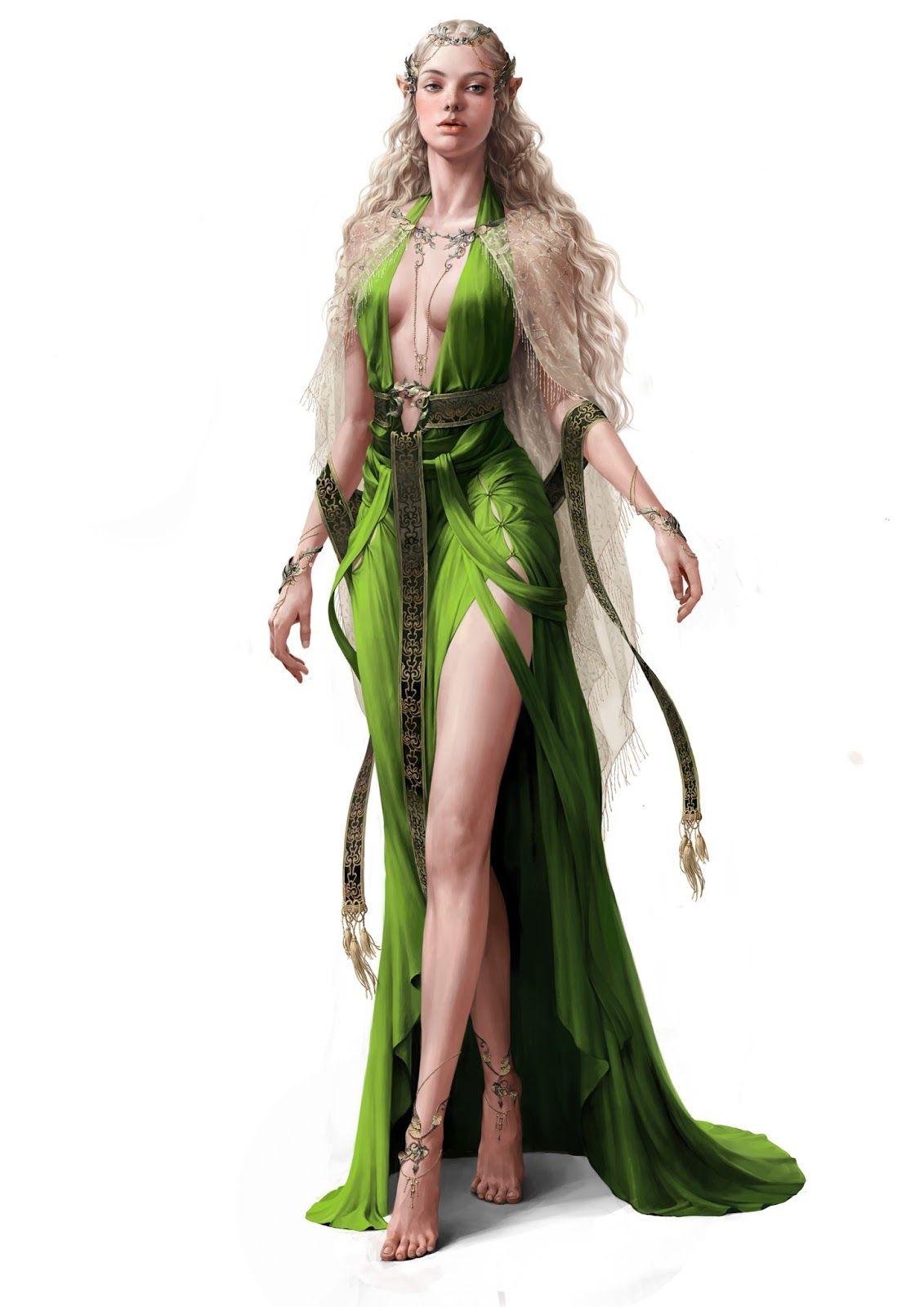 Siwoo kim kai fine art art pinterest elf warrior female