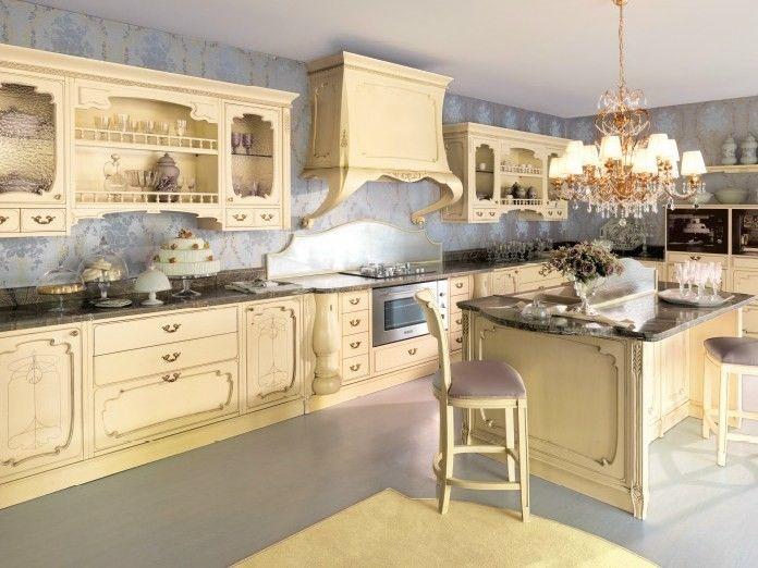 Cucina stile liberty - Cucina stile liberty di Cadore Arredamenti ...