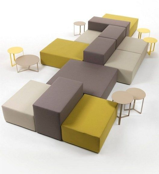40 unique modular sofa designs furniture pinterest for Sofa oficina