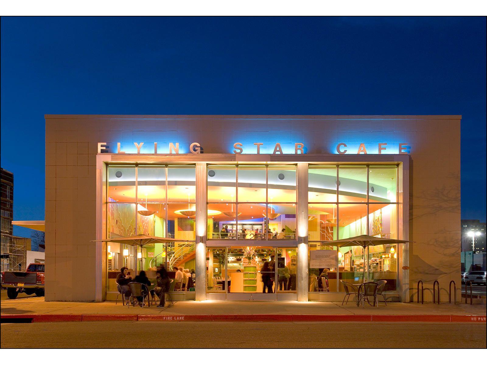 Flying Star Cafe Albuquerque Nm Restaurants Downtown Alburquerque New Mexico