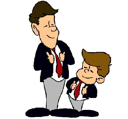 Resultado de imagen de padre e hijo dibujo