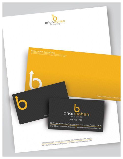 New Brand Identity Work Brian Cohen Consulting Studio Grafiko Branding Design Logo Design Company Logo