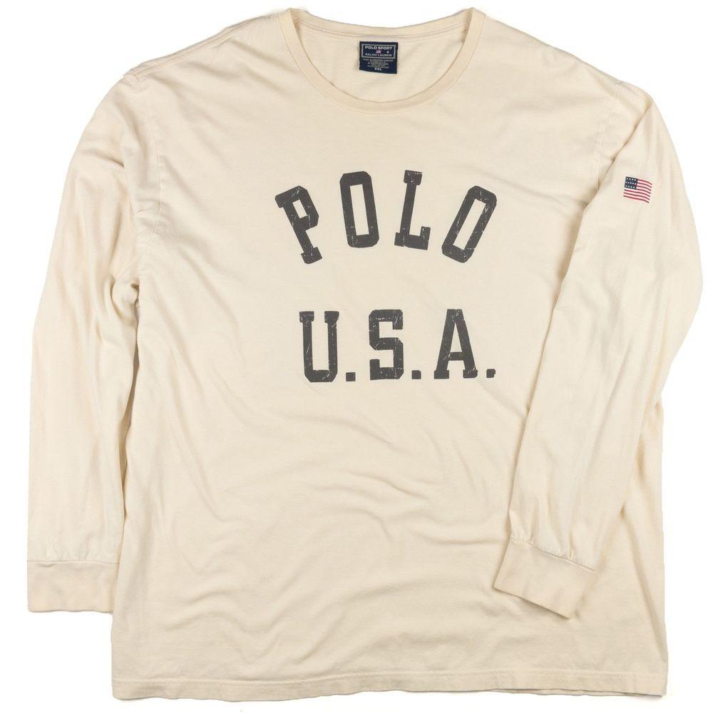 Polo Sport Ralph Lauren Vintage XXL 90s Shirt Long Sleeve