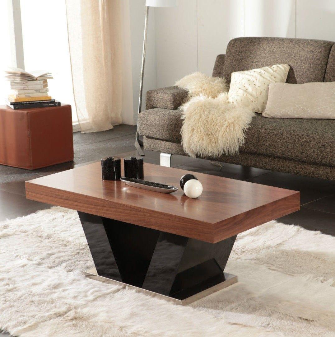 Mesa centro moderna tapa madera elevable 25 23 mesa de for Mesas de centro de madera para sala