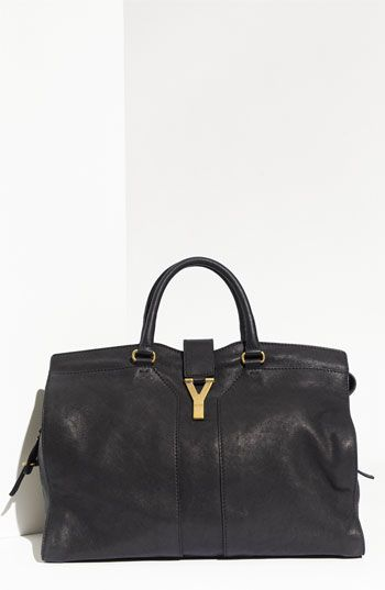 Yves Saint Laurent Cabas Chyc Large Leather Satchel Available At Nordstrom