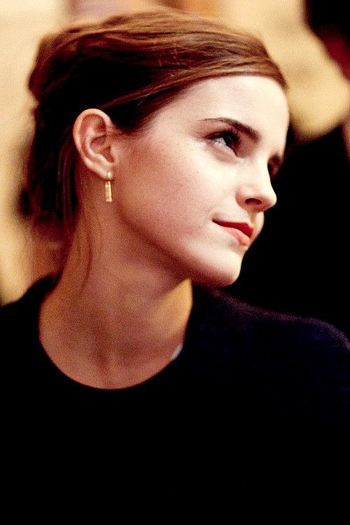 Emma Watson – Will always be my Hermione Granger! And she's also a kick-ass feminist!!
