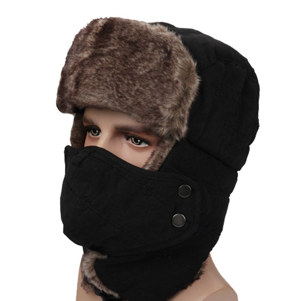 ae0e73f7a SkyCity Unisex Winter Trooper Trapper Hat |Russian Hunting Trooper ...