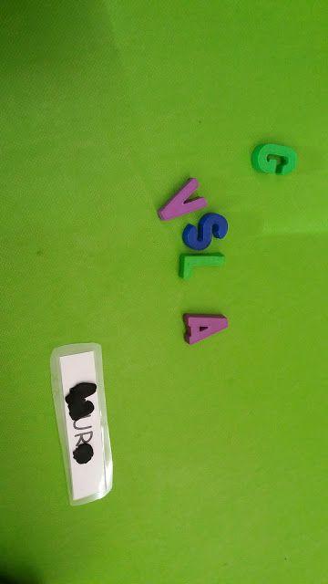 LOS PEQUES DEL PICASSO: Aprendemos nuestro nombre