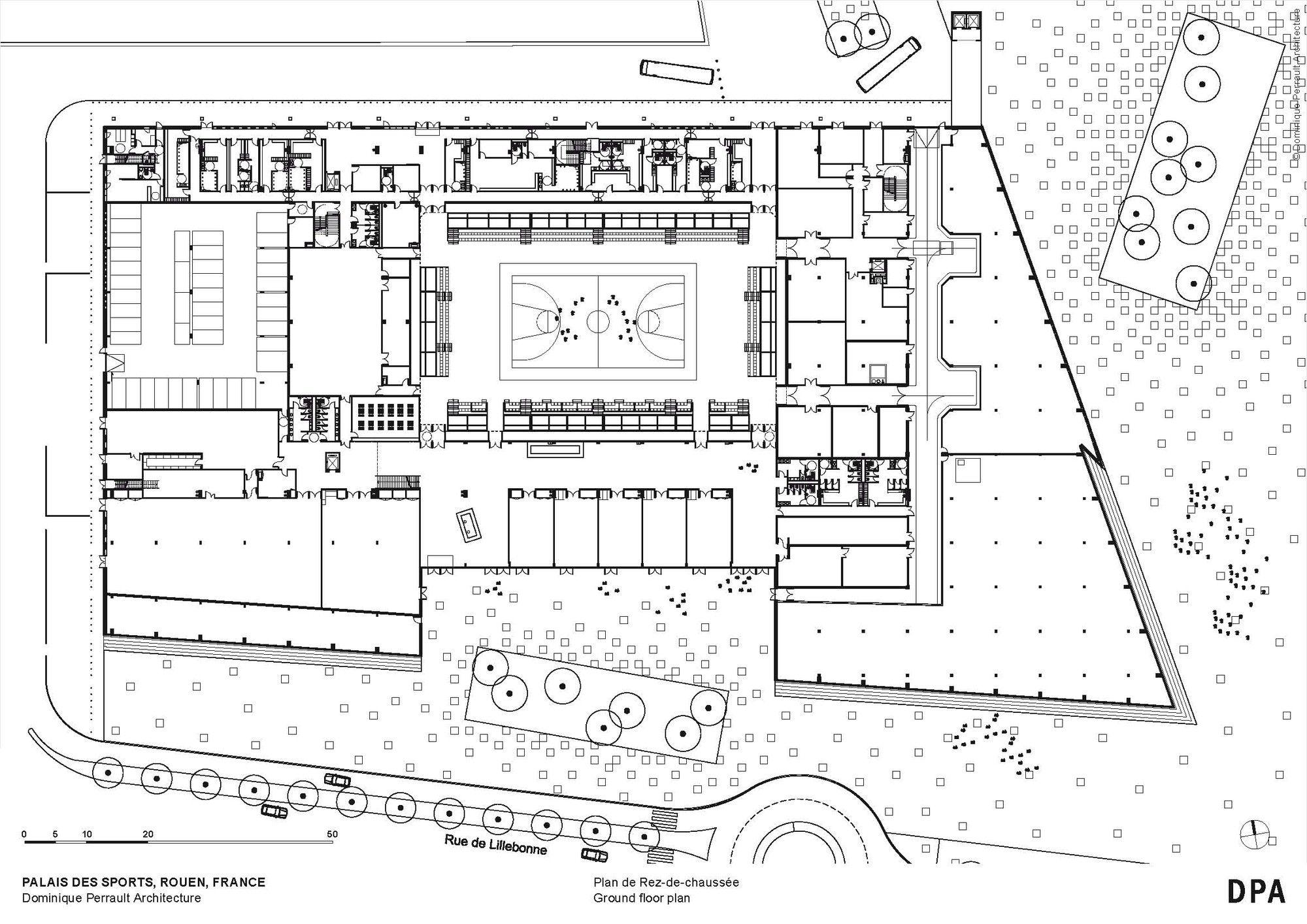 galer a de palacio de deportes de rouen dominique perrault architecture 26 deportes. Black Bedroom Furniture Sets. Home Design Ideas