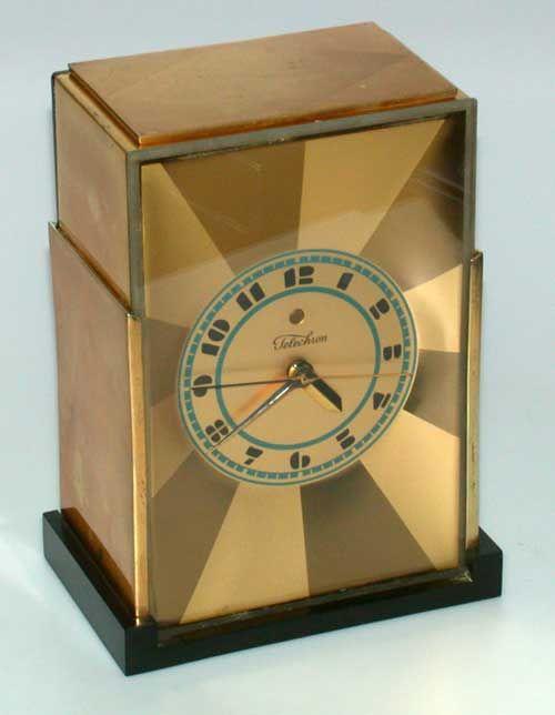 Frankl - Modernique Clock - Industrial Design