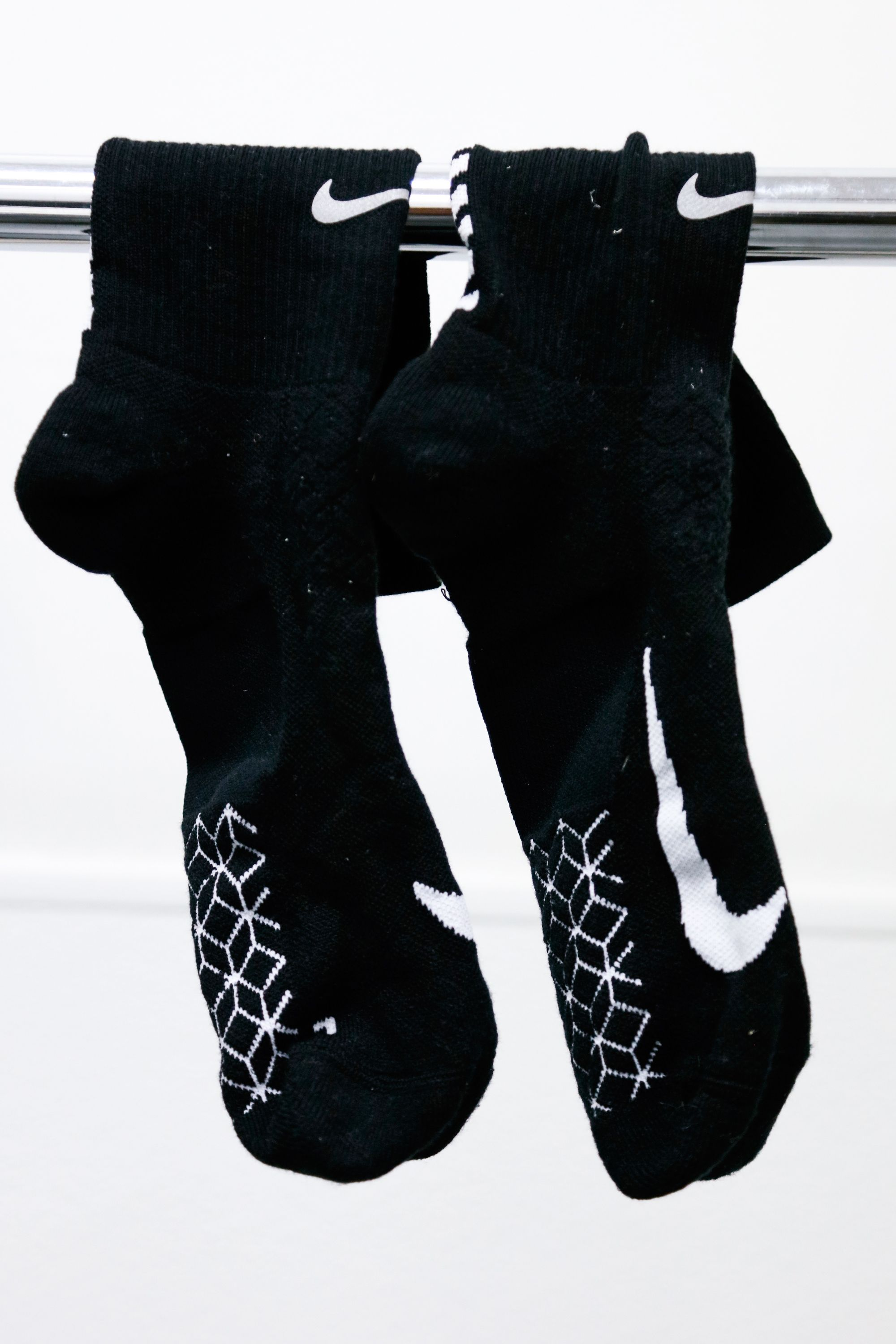 Nike Long Black Socks with Cube Graphic #A6251715