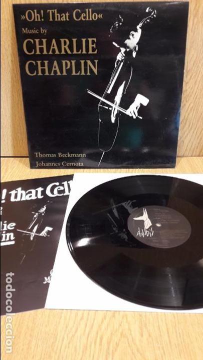 OH ! THAT CELLO. MUSIC BY CHARLIE CHAPLIN. LP / LP / ANUBIS-JARO - 1986 / MBC. ***/***CASI LUJO.