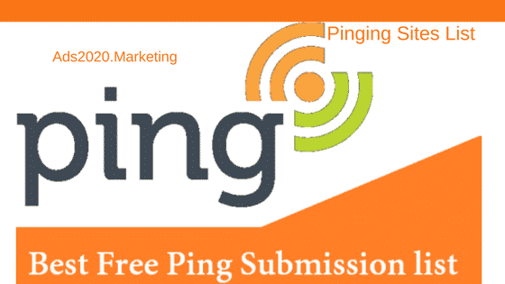 Ping Submission Sites List 2019- Top 30 Pinging Sites | Online