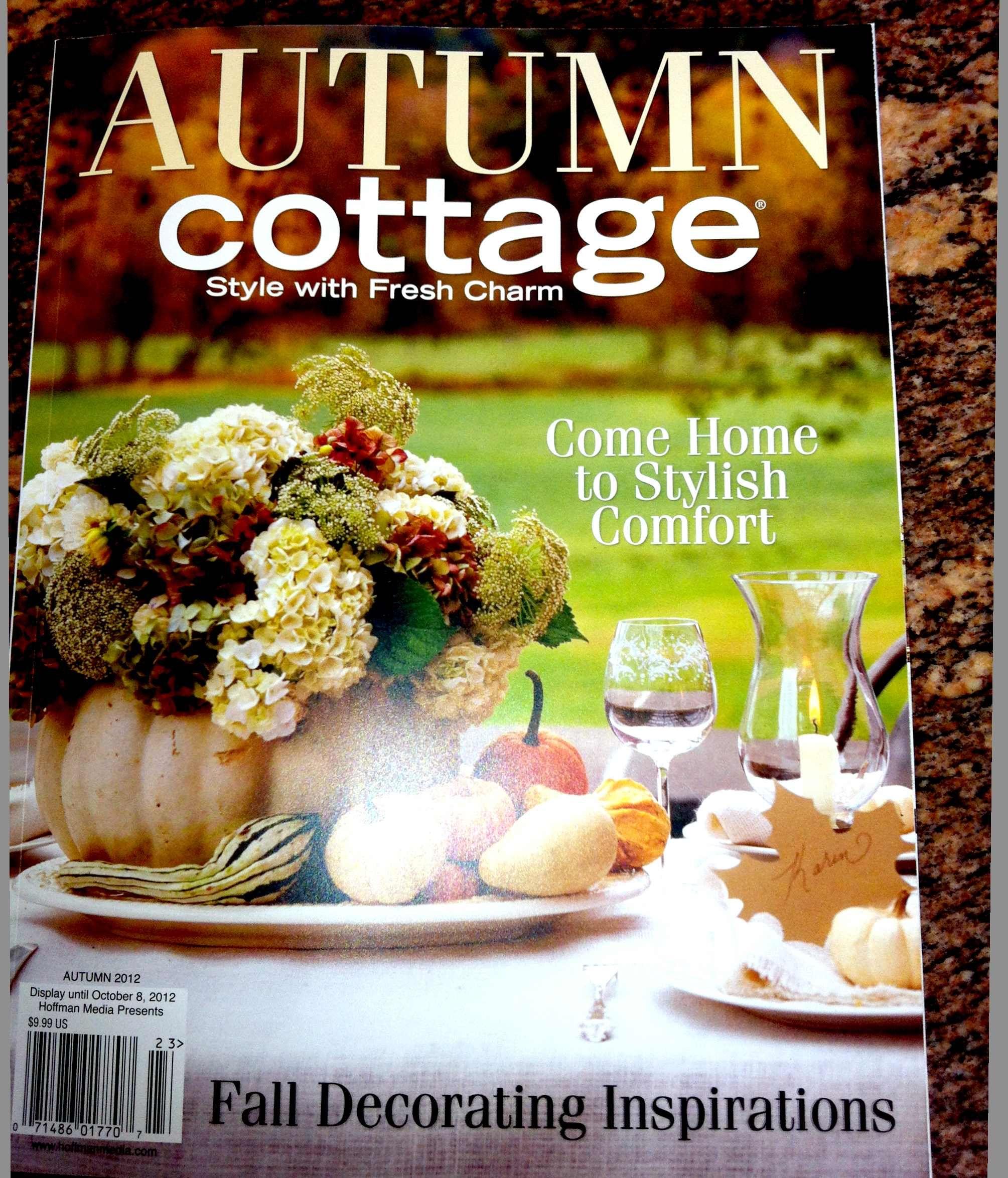 Cottage magazine decorating awesome cottage style for Cottage home magazine