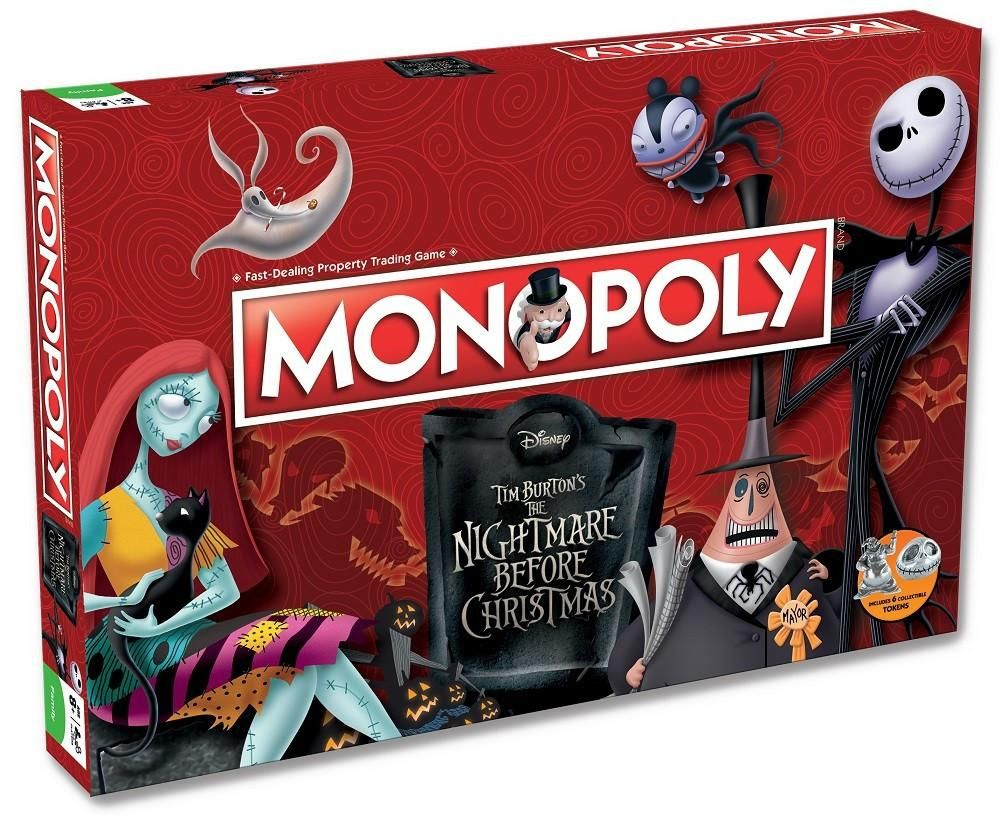 The Nightmare Before Christmas MONOPOLY Nightmare