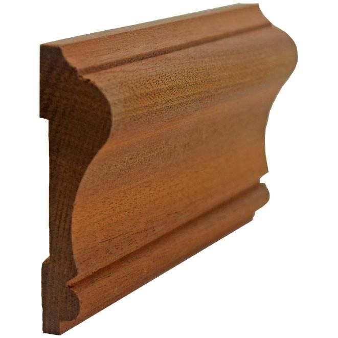 Chair Rail Ewch11 Sapele Mahogany Decorative Mouldings Door Molding Mantle