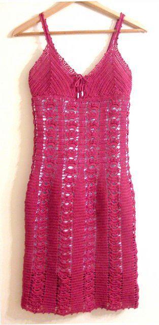 Crochet Dress Dishcloth Pattern Crochet Summer Dress Pattern