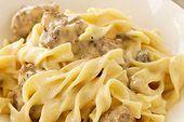 Photo of VELVEETA® Cheesy Beef Stroganoff Casserole-VELVEETA® Cheesy …