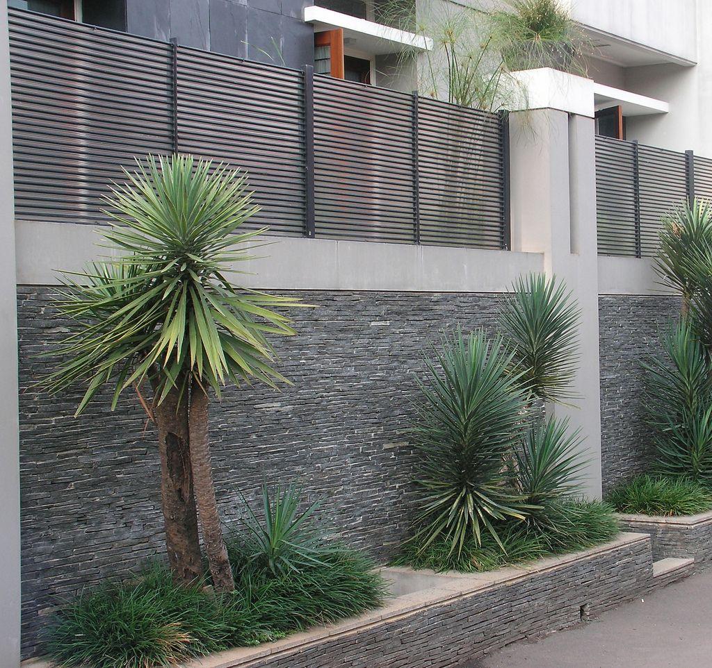 Pagar Tembok Minimalis 81 Tips Membuat Desain Pagar Tembok
