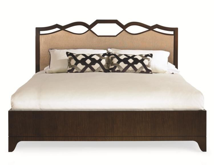 419-176 - Ogee Bed With Uph Headboard - King Size 6/6 | Furnishings ...